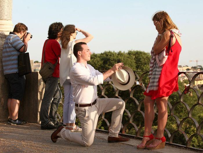 как красиво сделать предложение девушке выйти замуж