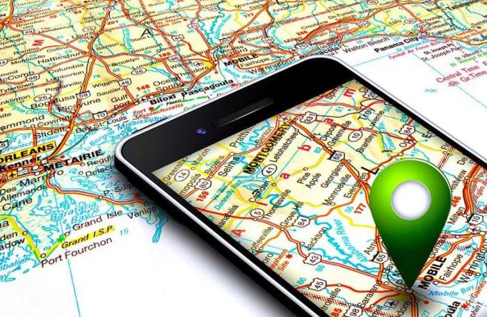 геолокация в телефоне